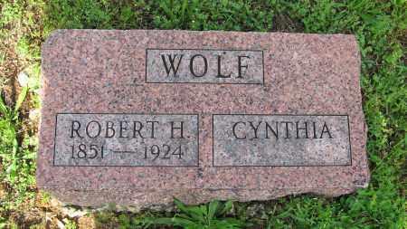 WOLF, ROBERT H. - Baxter County, Arkansas   ROBERT H. WOLF - Arkansas Gravestone Photos