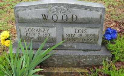 WOOD, LORANZY Z. - Baxter County, Arkansas | LORANZY Z. WOOD - Arkansas Gravestone Photos