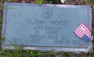 WOOD (VETERAN 2 WARS), GLENN R - Baxter County, Arkansas | GLENN R WOOD (VETERAN 2 WARS) - Arkansas Gravestone Photos