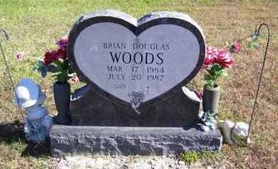 WOODS, BRIAN DOUGLAS - Baxter County, Arkansas | BRIAN DOUGLAS WOODS - Arkansas Gravestone Photos