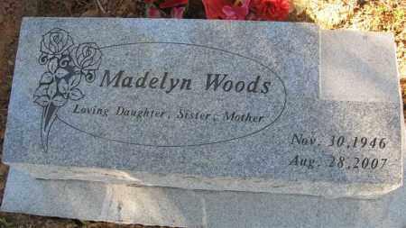 CLARK WOODS, MADELYN - Baxter County, Arkansas | MADELYN CLARK WOODS - Arkansas Gravestone Photos