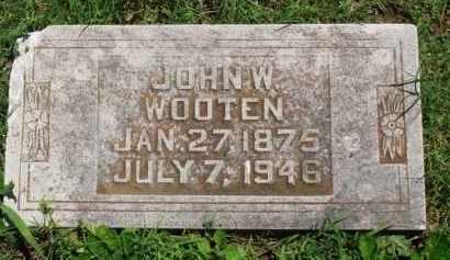 WOOTEN, JOHN W. - Baxter County, Arkansas | JOHN W. WOOTEN - Arkansas Gravestone Photos