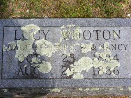 WOOTON WOOTON, LUCY - Baxter County, Arkansas | LUCY WOOTON WOOTON - Arkansas Gravestone Photos