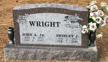 WRIGHT, JR., JOHN A. - Baxter County, Arkansas | JOHN A. WRIGHT, JR. - Arkansas Gravestone Photos
