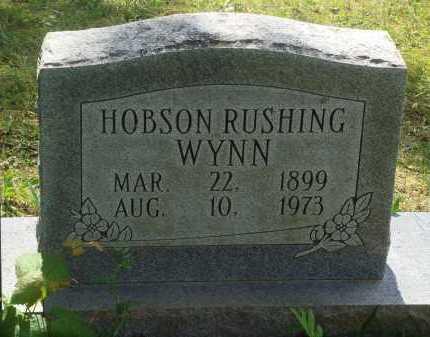 WYNN, HOBSON RUSHING - Baxter County, Arkansas   HOBSON RUSHING WYNN - Arkansas Gravestone Photos