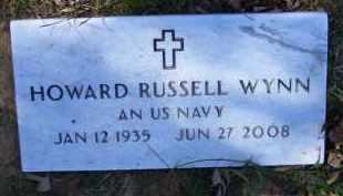 WYNN (VETERAN KOR), HOWARD RUSSELL - Baxter County, Arkansas | HOWARD RUSSELL WYNN (VETERAN KOR) - Arkansas Gravestone Photos