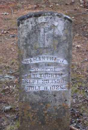 YOCHAM, SAMANTHA J. - Baxter County, Arkansas | SAMANTHA J. YOCHAM - Arkansas Gravestone Photos