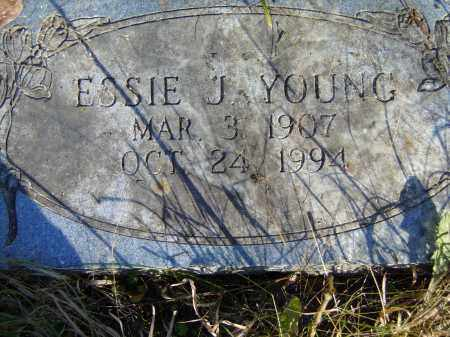 YOUNG, ESSIE J. - Baxter County, Arkansas | ESSIE J. YOUNG - Arkansas Gravestone Photos