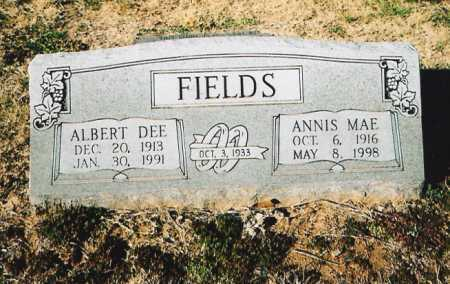 FIELDS, ANNIS MAE - Benton County, Arkansas | ANNIS MAE FIELDS - Arkansas Gravestone Photos