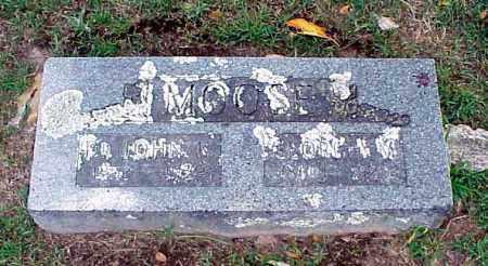 MOOSE, JOHN W. - Benton County, Arkansas   JOHN W. MOOSE - Arkansas Gravestone Photos