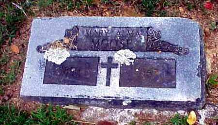 MOOSE, MARY ANNA - Benton County, Arkansas   MARY ANNA MOOSE - Arkansas Gravestone Photos