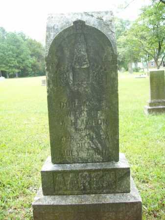 AARON, DORCAS E. - Benton County, Arkansas   DORCAS E. AARON - Arkansas Gravestone Photos