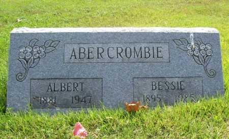 ABERCROMBIE, BESSIE - Benton County, Arkansas | BESSIE ABERCROMBIE - Arkansas Gravestone Photos