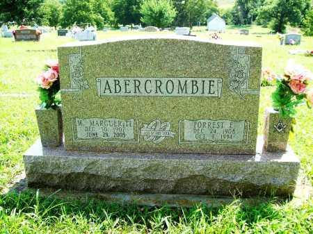 ABERCROMBIE, M MARGUERITE - Benton County, Arkansas | M MARGUERITE ABERCROMBIE - Arkansas Gravestone Photos