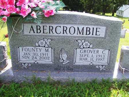 ABERCROMBIE, GROVER C. - Benton County, Arkansas | GROVER C. ABERCROMBIE - Arkansas Gravestone Photos