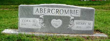 ABERCROMBIE, HENRY M - Benton County, Arkansas | HENRY M ABERCROMBIE - Arkansas Gravestone Photos