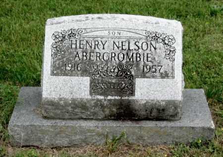 ABERCROMBIE, HENRY NELSON - Benton County, Arkansas   HENRY NELSON ABERCROMBIE - Arkansas Gravestone Photos