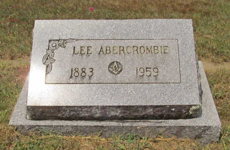 ABERCROMBIE, LEE - Benton County, Arkansas | LEE ABERCROMBIE - Arkansas Gravestone Photos