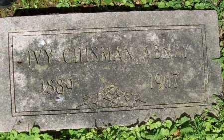 ABNEY, IVY CHISMAN - Benton County, Arkansas | IVY CHISMAN ABNEY - Arkansas Gravestone Photos