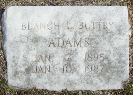 ADAMS, BLANCH L - Benton County, Arkansas | BLANCH L ADAMS - Arkansas Gravestone Photos