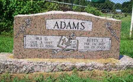 ADAMS, BETTY J. - Benton County, Arkansas | BETTY J. ADAMS - Arkansas Gravestone Photos