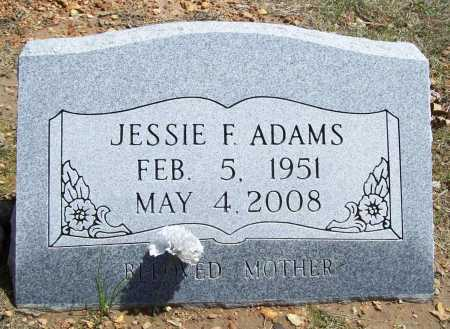 ADAMS, JESSIE FAY - Benton County, Arkansas | JESSIE FAY ADAMS - Arkansas Gravestone Photos