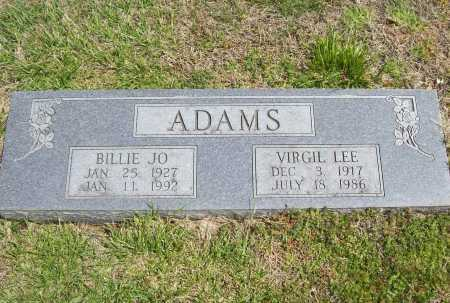 ADAMS, VIRGIL LEE - Benton County, Arkansas | VIRGIL LEE ADAMS - Arkansas Gravestone Photos