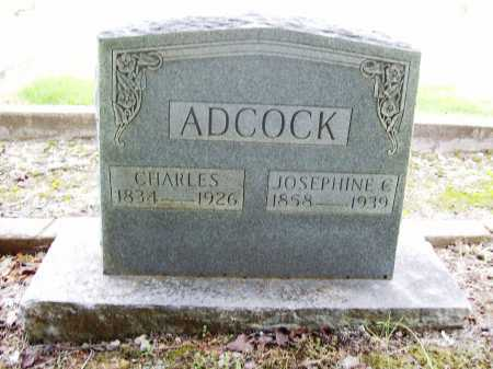 ADCOCK, CHARLES - Benton County, Arkansas | CHARLES ADCOCK - Arkansas Gravestone Photos