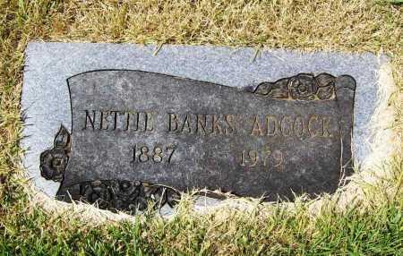 ADCOCK, NETTIE - Benton County, Arkansas | NETTIE ADCOCK - Arkansas Gravestone Photos