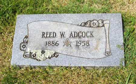 ADCOCK, REED W. - Benton County, Arkansas   REED W. ADCOCK - Arkansas Gravestone Photos