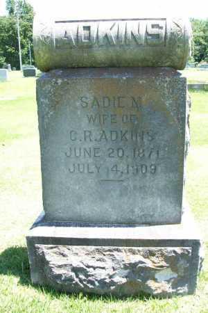 ADKINS, SADIE M. - Benton County, Arkansas   SADIE M. ADKINS - Arkansas Gravestone Photos