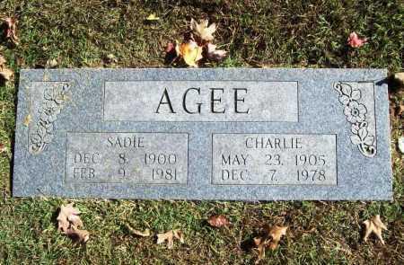 AGEE, SADIE - Benton County, Arkansas   SADIE AGEE - Arkansas Gravestone Photos