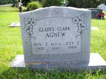AGNEW, GLADYS - Benton County, Arkansas | GLADYS AGNEW - Arkansas Gravestone Photos