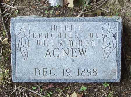 AGNEW, INFANT DAUGHTER - Benton County, Arkansas   INFANT DAUGHTER AGNEW - Arkansas Gravestone Photos