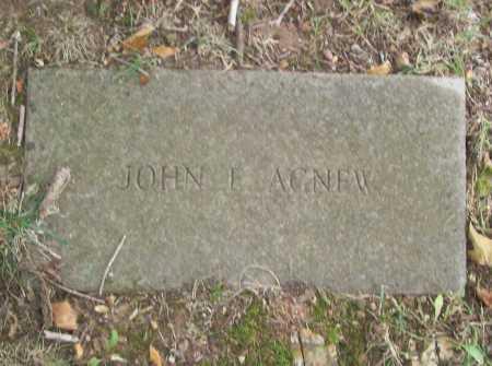 AGNEW, JOHN E. - Benton County, Arkansas   JOHN E. AGNEW - Arkansas Gravestone Photos