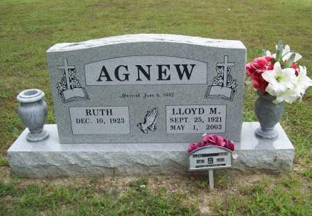 AGNEW, LLOYD M. - Benton County, Arkansas   LLOYD M. AGNEW - Arkansas Gravestone Photos