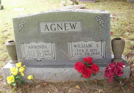 "AGNEW, ARMINDA ""MINDA"" - Benton County, Arkansas | ARMINDA ""MINDA"" AGNEW - Arkansas Gravestone Photos"