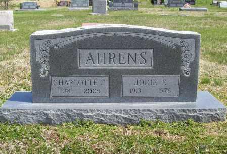 AHRENS, CHARLOTTE J. - Benton County, Arkansas | CHARLOTTE J. AHRENS - Arkansas Gravestone Photos