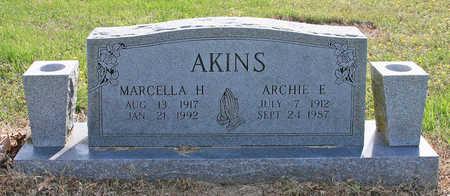 AKINS, ARCHIE ERVIN - Benton County, Arkansas | ARCHIE ERVIN AKINS - Arkansas Gravestone Photos