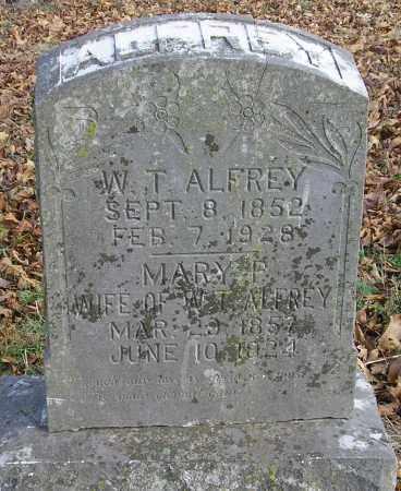 ALFREY, MARY P - Benton County, Arkansas | MARY P ALFREY - Arkansas Gravestone Photos