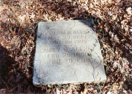 BLACK ALFREY, EMELY J. - Benton County, Arkansas | EMELY J. BLACK ALFREY - Arkansas Gravestone Photos