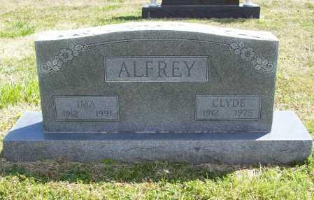 ALFREY, CLYDE R. - Benton County, Arkansas | CLYDE R. ALFREY - Arkansas Gravestone Photos
