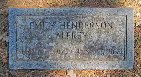 ALFREY, EMILY - Benton County, Arkansas | EMILY ALFREY - Arkansas Gravestone Photos