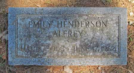 ALFREY, EMILY - Benton County, Arkansas   EMILY ALFREY - Arkansas Gravestone Photos