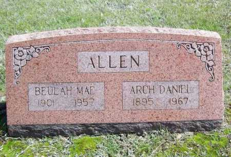 BLAIR ALLEN, BEULAH MAE - Benton County, Arkansas | BEULAH MAE BLAIR ALLEN - Arkansas Gravestone Photos