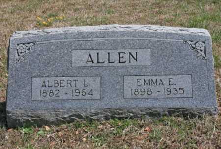 ALLEN, EMMA E. - Benton County, Arkansas | EMMA E. ALLEN - Arkansas Gravestone Photos