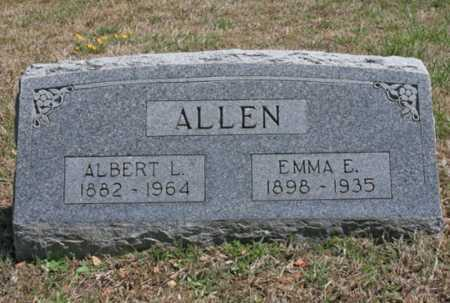 ALLEN, ALBERT L. - Benton County, Arkansas | ALBERT L. ALLEN - Arkansas Gravestone Photos