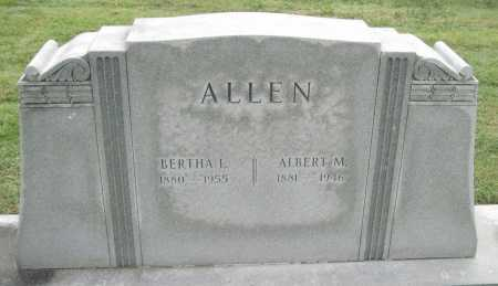 ALLEN, BERTHA L. - Benton County, Arkansas   BERTHA L. ALLEN - Arkansas Gravestone Photos