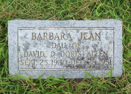 ALLEN, BARBARA JEAN - Benton County, Arkansas | BARBARA JEAN ALLEN - Arkansas Gravestone Photos