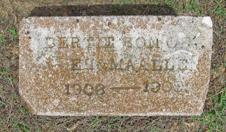 ALLEN, BERTIE - Benton County, Arkansas | BERTIE ALLEN - Arkansas Gravestone Photos